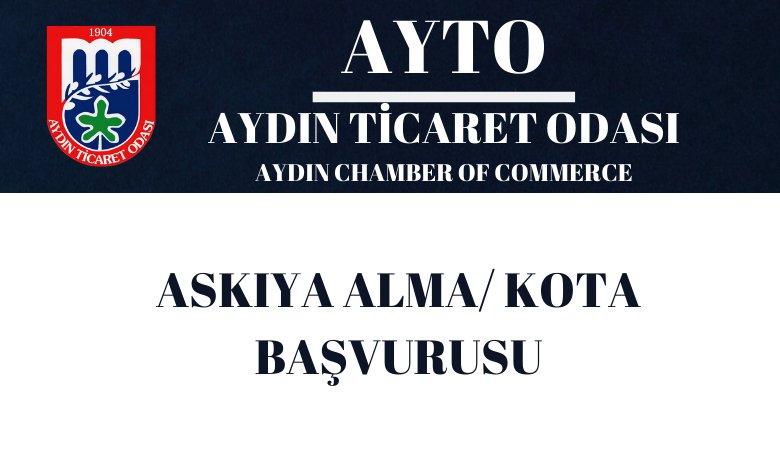 ASKIYA ALMA / KOTA BAŞVURUSU