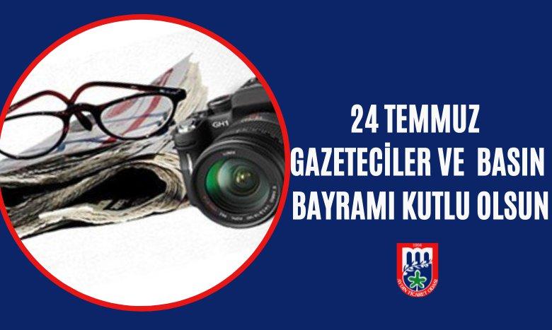 #24TemmuzGazetecilerveBasınBayramı