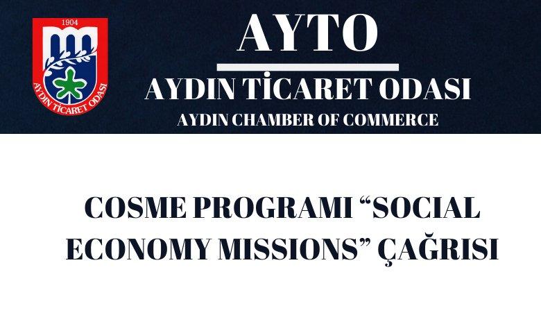 "COSME PROGRAMI ""SOCIAL ECONOMY MISSIONS"" ÇAĞRISI"