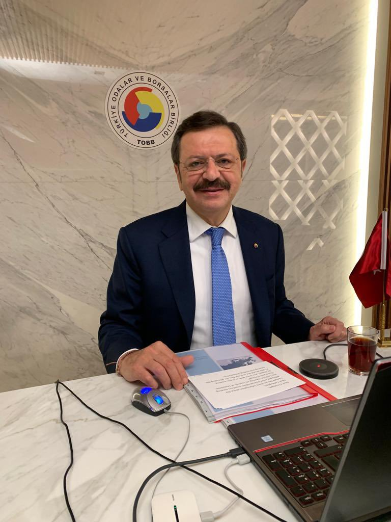 Avrupa Ticaret ve Sanayi Odaları Birliğ Genel Kurulu'nda önümüzdeki dönem de Başkan Vekilliği görevini sürdürecek olan TOBB Başkanımız M. Rifat HİSARCIKLIOĞLU'nu kutluyoruz
