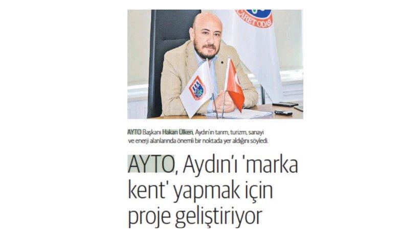 """Dünya Gazetesi, Ege Dünya yayınının ilk sayısında """"AYTO"""