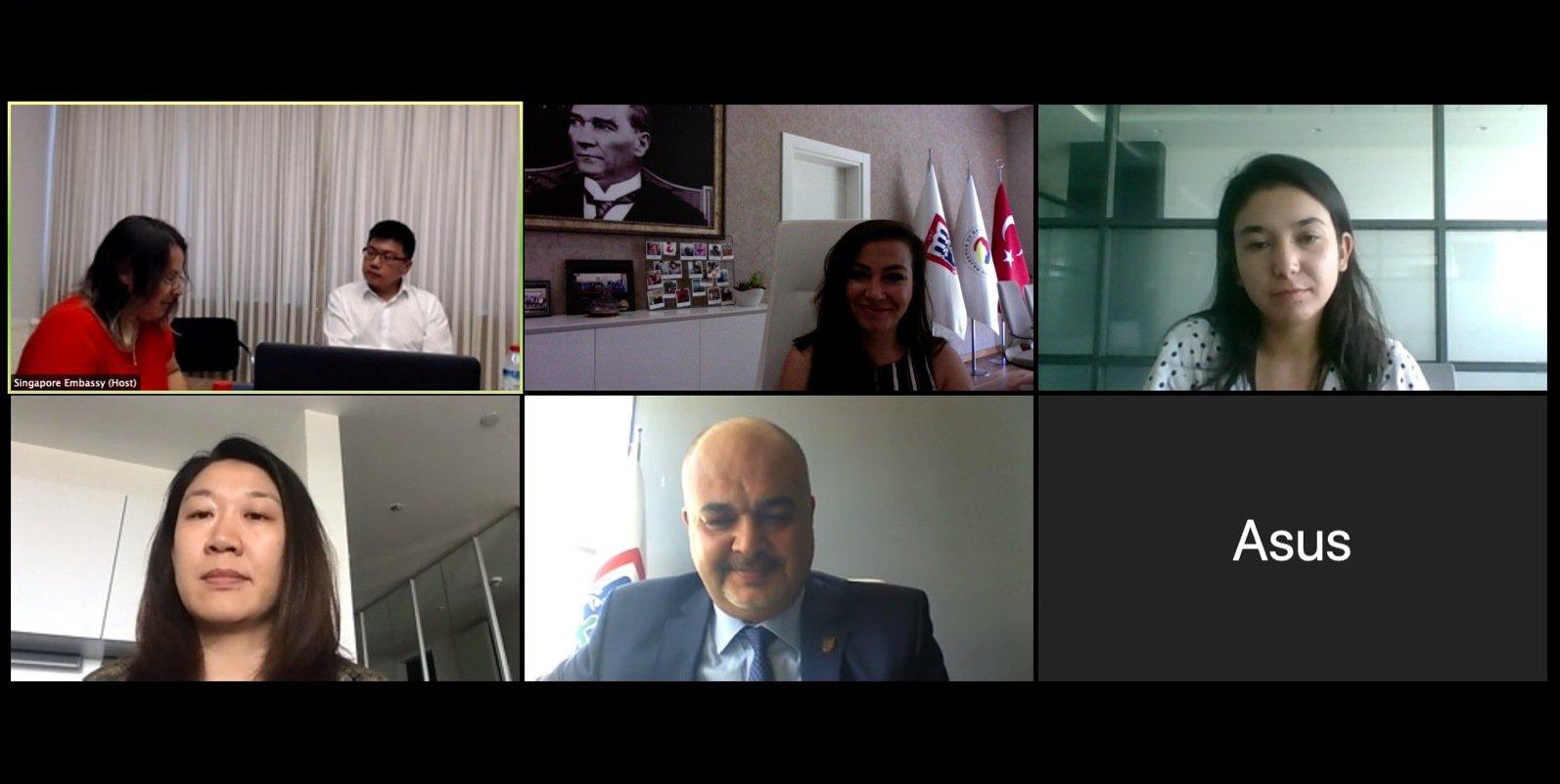 Singapur Ankara Büyükelçiliği  ile Dış Ticaret Toplantısı