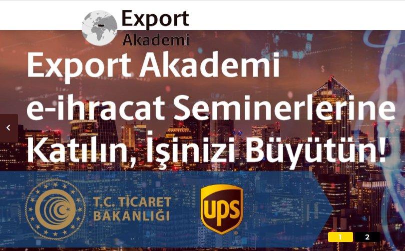 ONLİNE EXPORT AKADEMİ PROGRAMI
