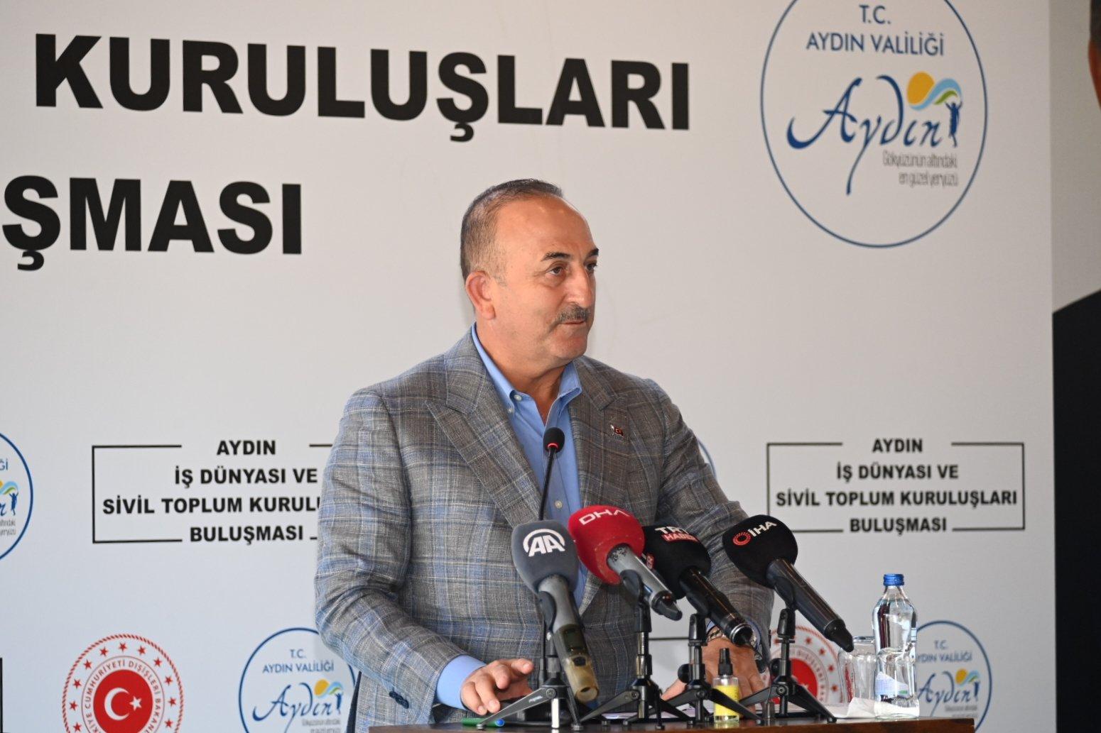 ÜLKEN,  Dışişleri Bakanı Sayın Mevlüt ÇAVUŞOĞLU'na  Aydın firmalarının dış ticaret ile ilgili uluslararası sorun ve çözüm önerilerini iletti
