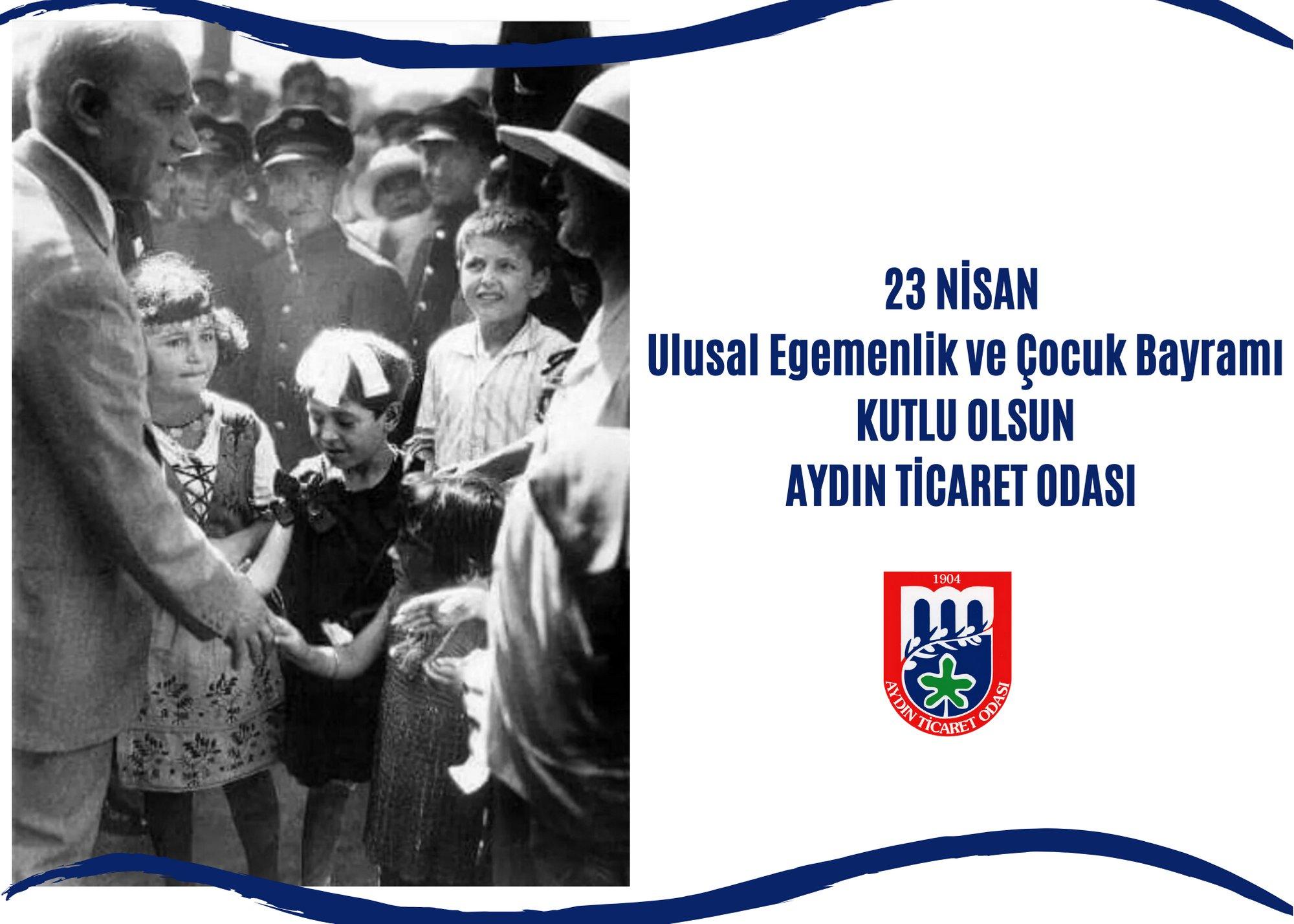 Türkiye Büyük Millet Meclisi'nin açılışının 101. yılı ve 23 Nisan Ulusal Egemenlik ve Çocuk Bayramı kutlu olsun