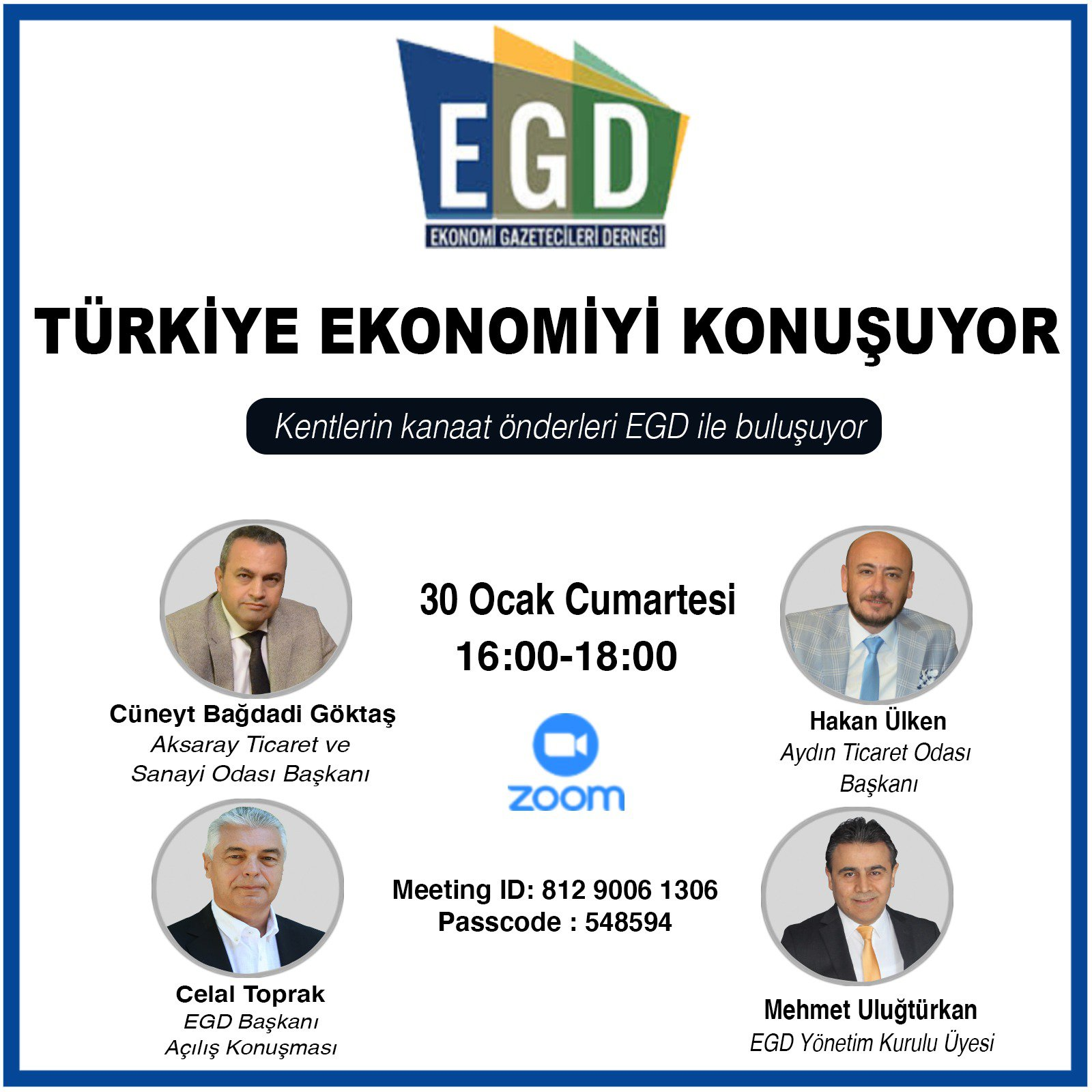 """""""Türkiye Ekonomiyi Konuşuyor"""" programı"""