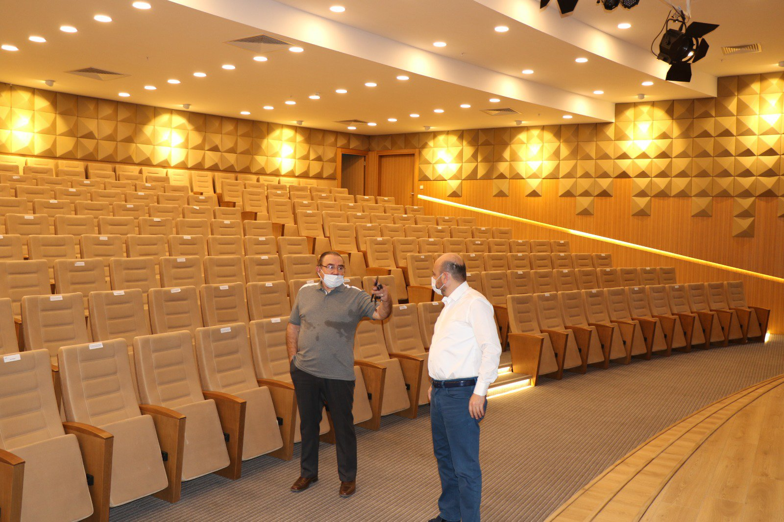 Aydın Eski Belediye Başkanı Hüseyin Aksu'dan AYTO'ya ziyaret