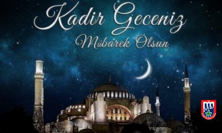Tüm İslam alemi ve değerli üyelerimiz için Kadir Gecesinin hayırlara vesile olmasını dileriz.