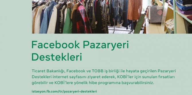FACEBOOK İSTASYON- PAZARYERİ DESTEKLERİ
