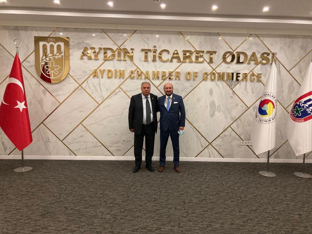 Devlet Eski Bakanı Adnan Menderes Üniversitesi (ADÜ) İletişim Fakültesi Dekanı Yüksel YALOVA'dan AYTO'YA ZİYARET