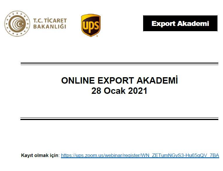 ONLINE EXPORT AKADEMİ