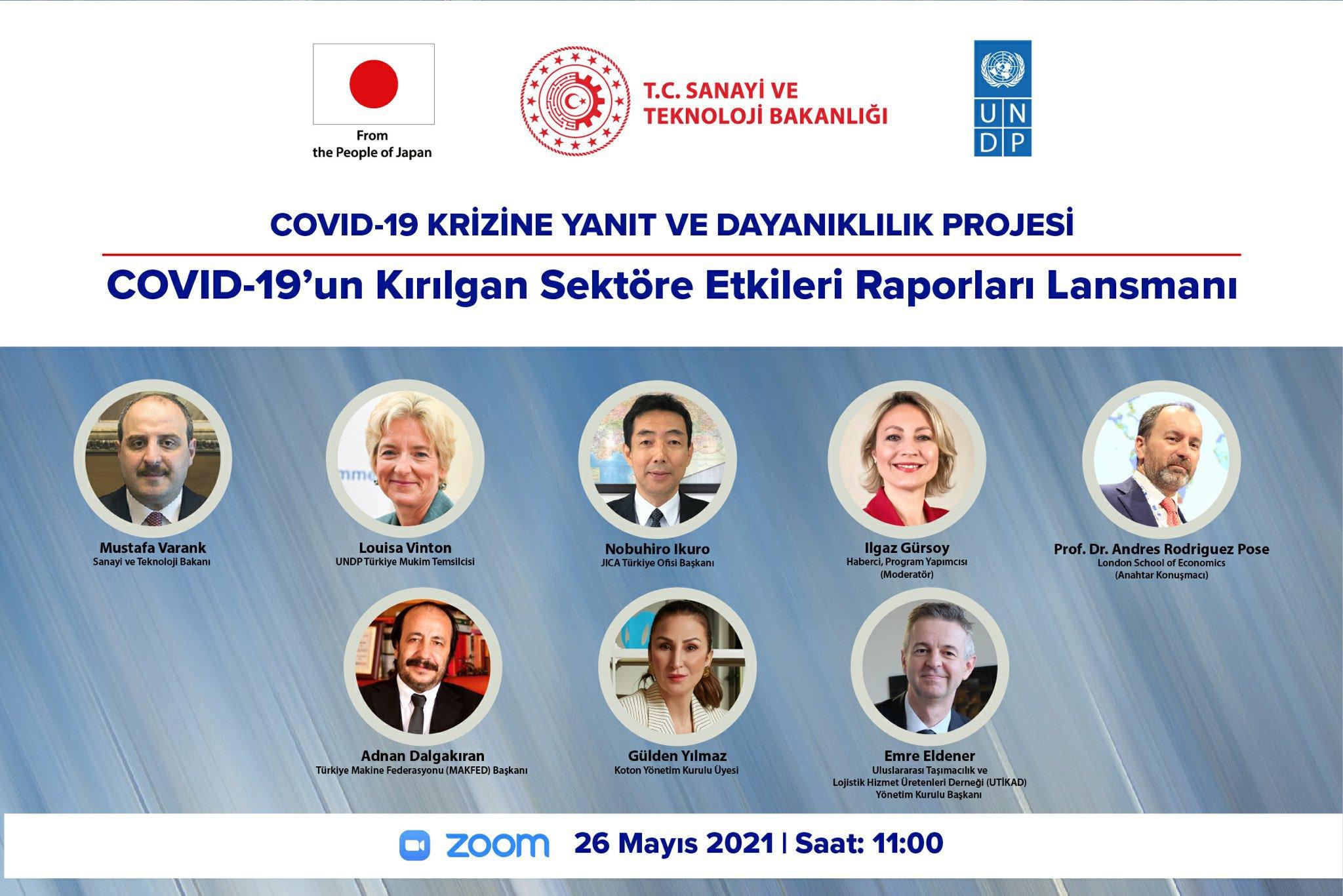 COVID-19'un Kırılgan Sektöre Etkileri Raporları Tanıtım Toplantısı