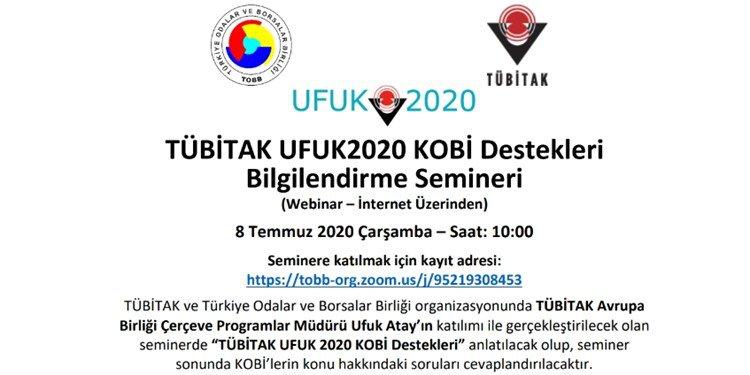 UFUK2020 KOBİ DESTEKLERİ SEMİNERİ