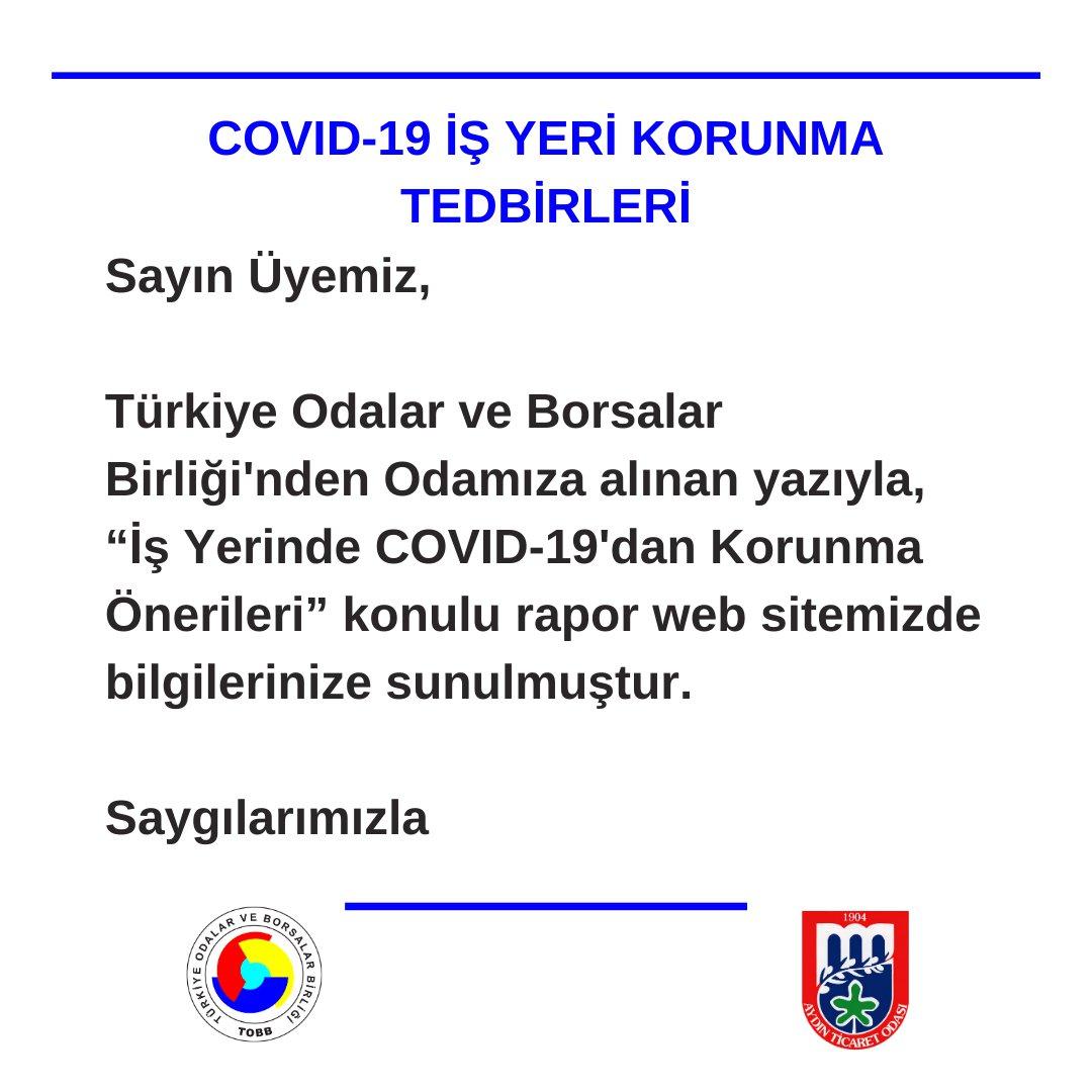 COVID-19 İŞ YERİ KORUNMA TEDBİRLERİ
