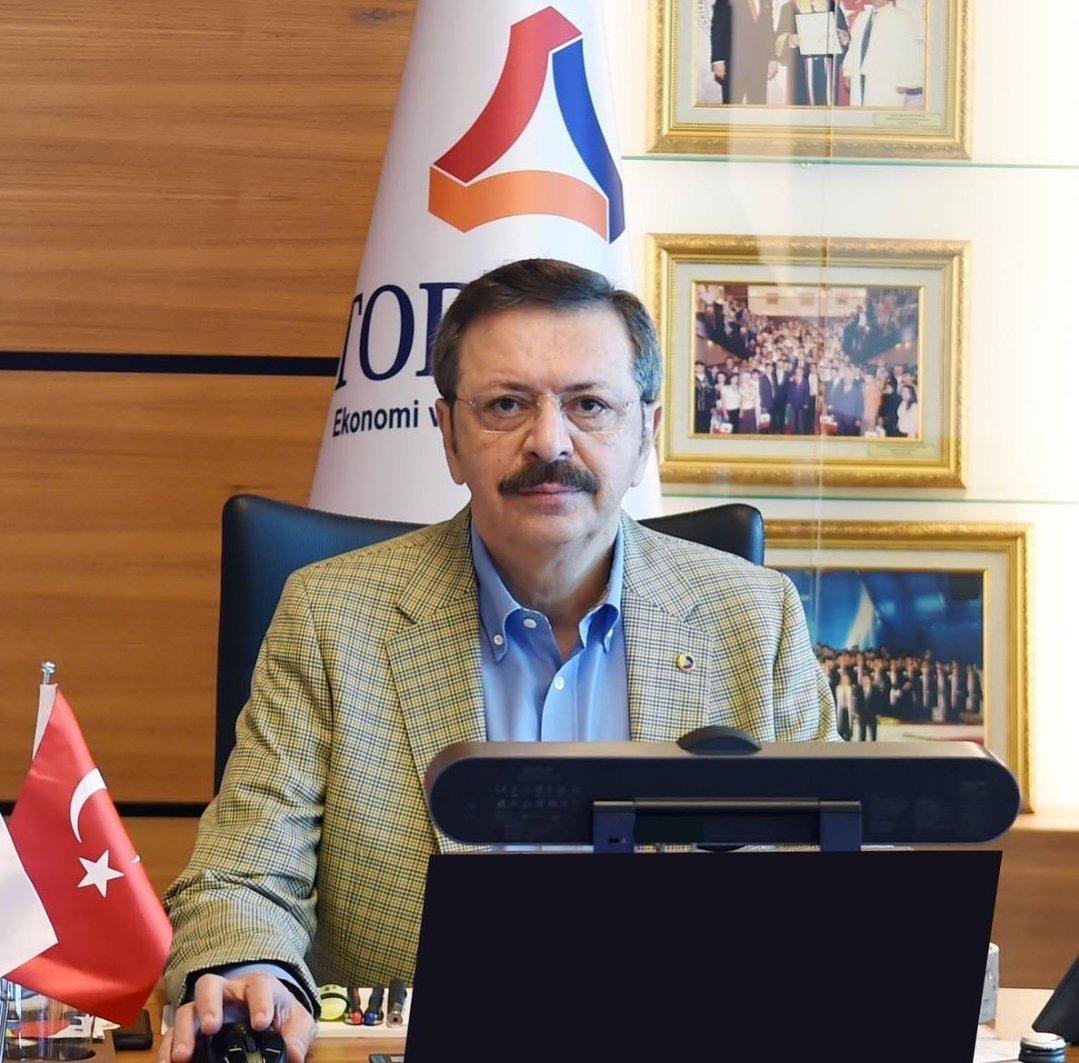 TOBB Başkanımız Sn. M. Rifat Hisarcıklıoğlu, 2021 yılı için EUROCHAMBRES Başkan Vekilliği görevine tekrar seçildi