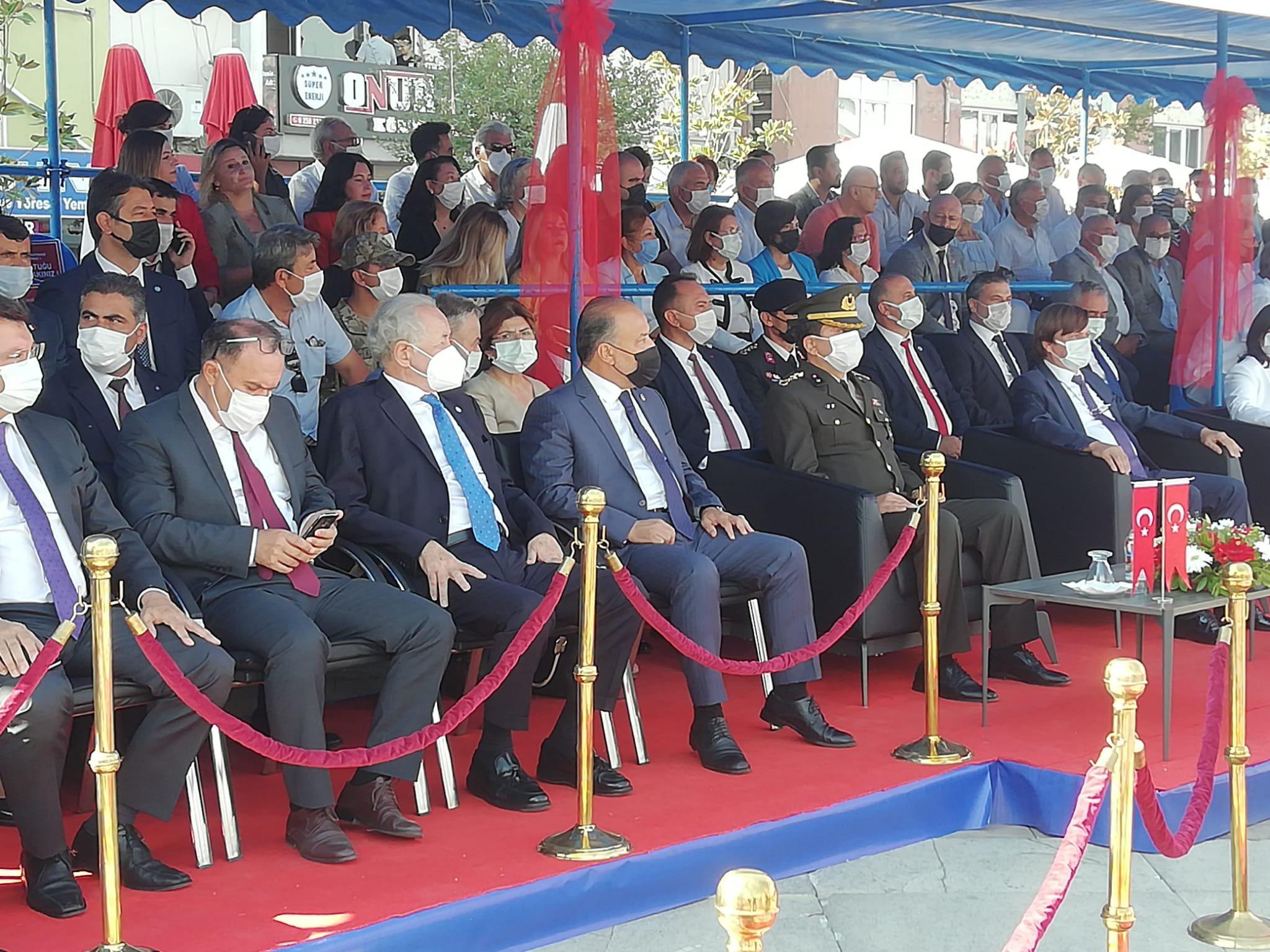 Odamız Meclis Başkan Yardımcısı Fatih Namık TALAY, Atatürk Kent Meydanı'nda düzenlenen Aydın'ın Düşman İşgalinden Kurtuluşunun 99. Yıl dönümü Kutlama Programına katılım sağladı.