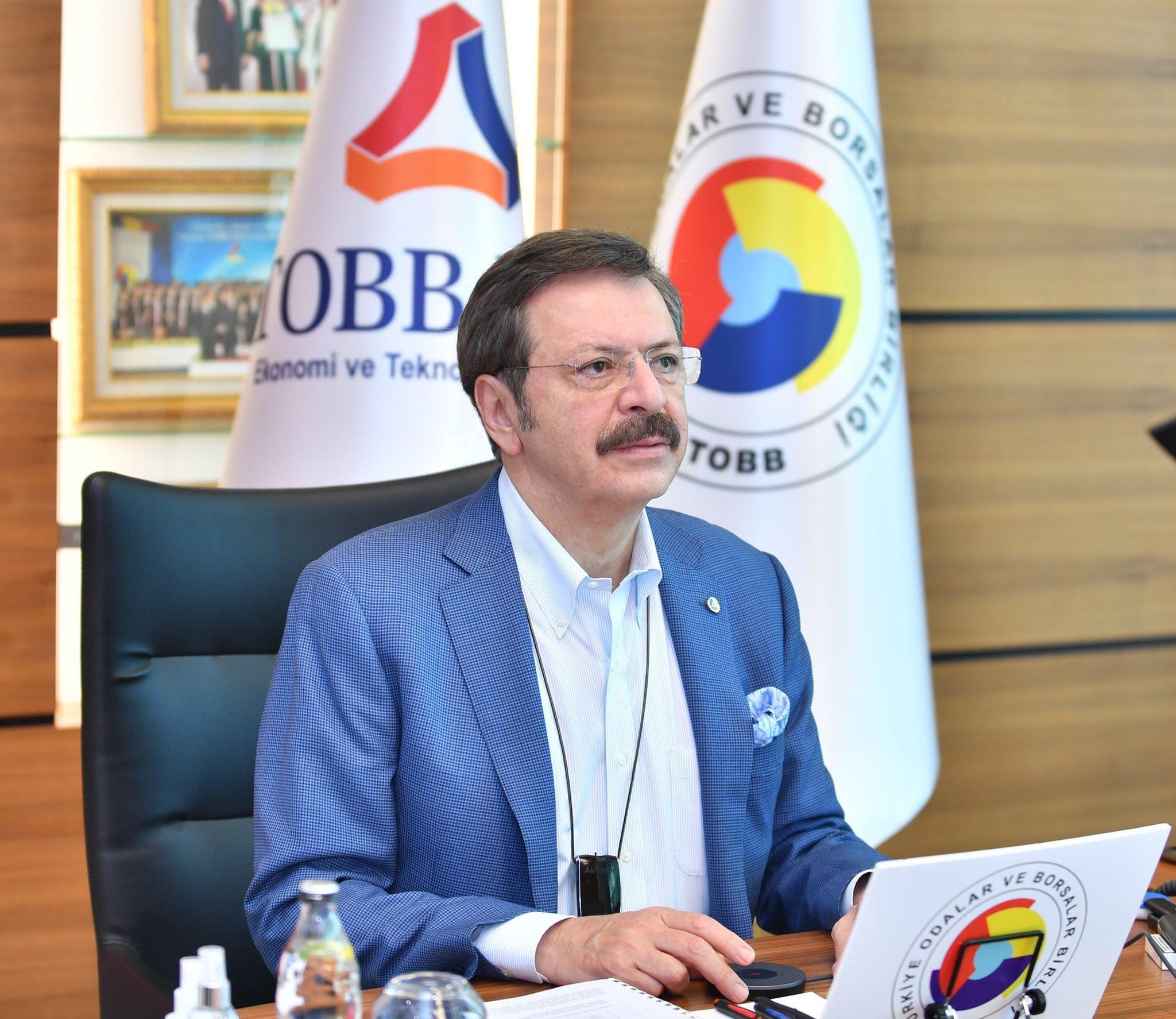 İslam Ticaret Sanayi ve Tarım Odası Genel Kurulu'nda yeniden Yönetim Kurulu Üyeliğine seçilen TOBB Başkanımız Sn. M. Rifat HİSARCIKLIOĞLU'nu gönülden tebrik ediyor, hayırlı olmasını diliyoruz.