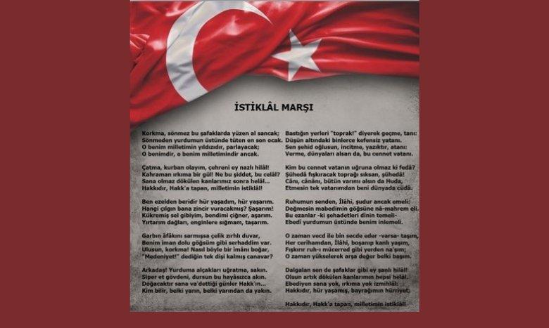 #İstiklalMarşı'mızın kabulünün 100. yılı