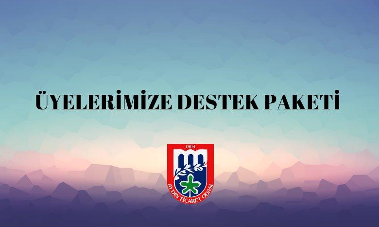 ÜYELERİMİZE DESTEK PAKETİ