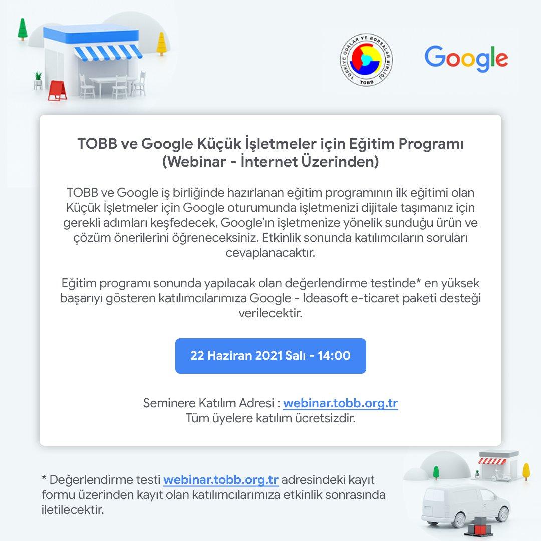 Küçük İşletmeler İçin Google Eğitim Programı