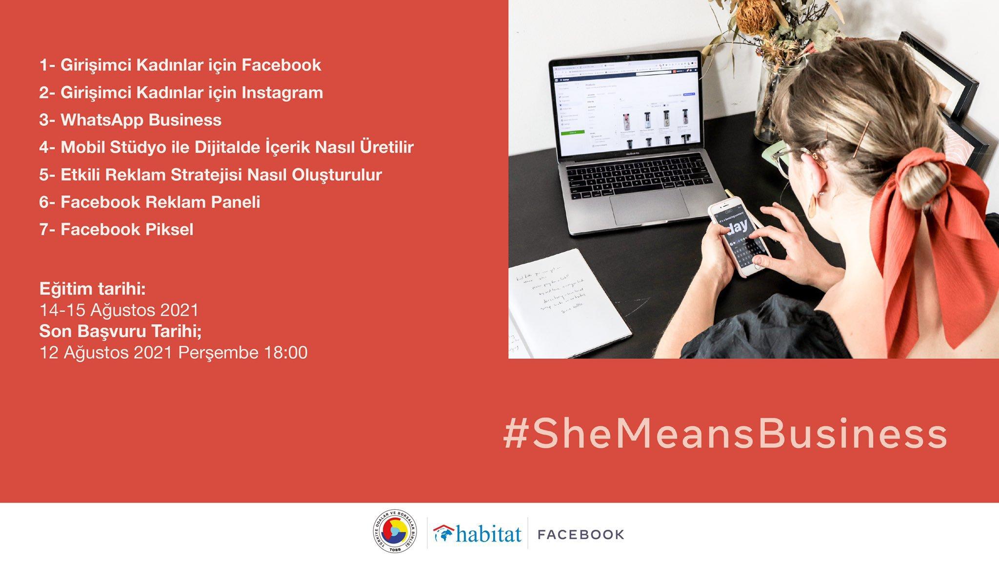 #Shemeansbusiness Programı