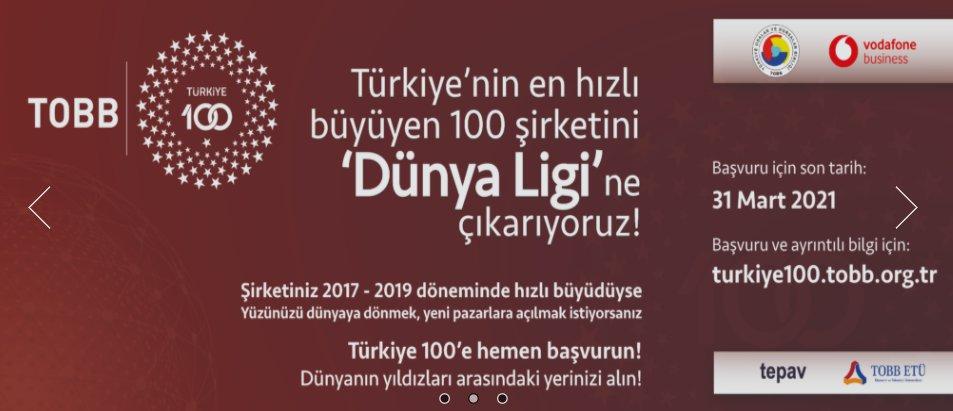 TOBB TÜRKİYE 100